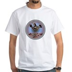 Mimbres Cream Quail White T-Shirt