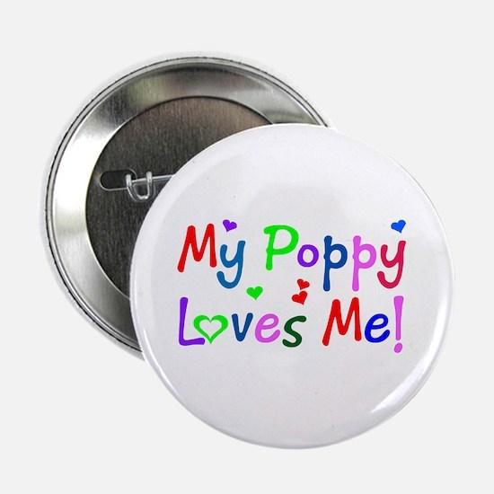 My Poppy Loves Me (des. #1) Button