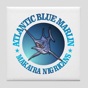 Blue Marlin Tile Coaster