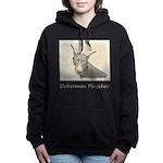 Doberman Pinscher Women's Hooded Sweatshirt