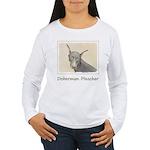 Doberman Pinscher Women's Long Sleeve T-Shirt