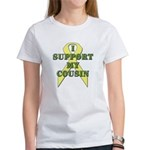 I Support My Cousin Women's T-Shirt