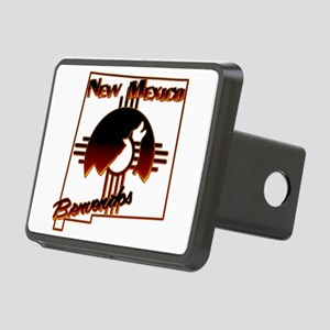 NM Coyote Silhouette Rectangular Hitch Cover