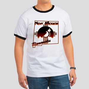 NM Coyote Silhouette Ringer T
