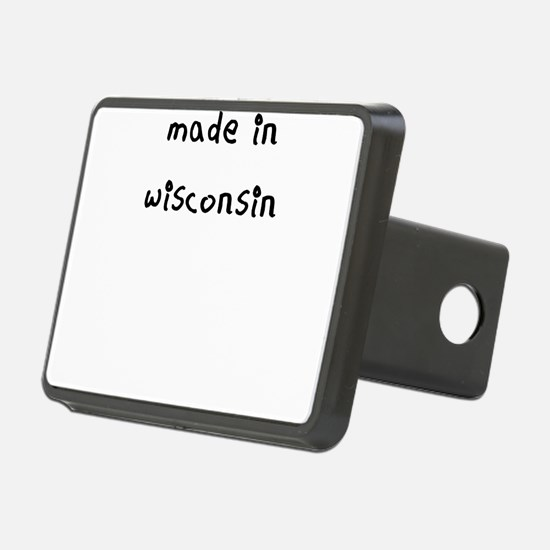 made in wisconsin Hitch Cover