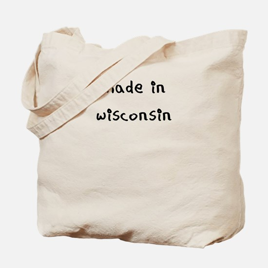made in wisconsin Tote Bag