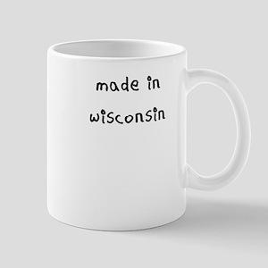 made in wisconsin Mug