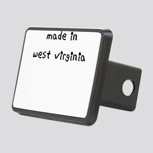 made in west virginia Hitch Cover