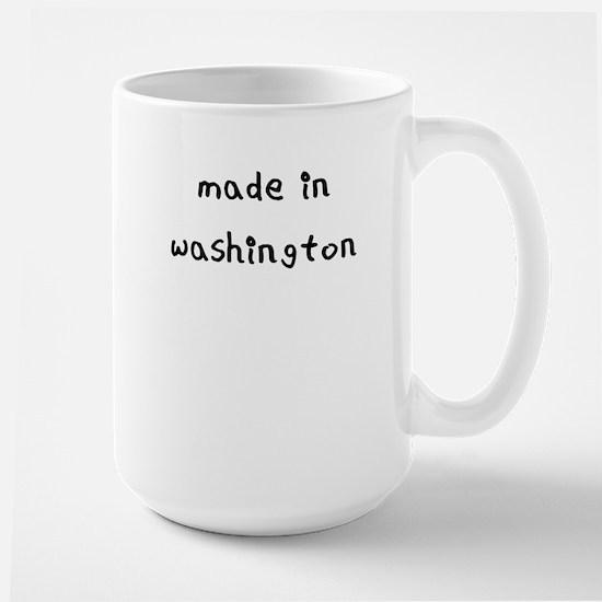 made in washington Mug