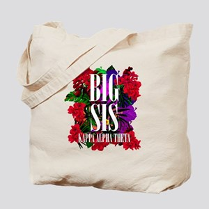 Kappa Alpha Theta Big Floral Tote Bag