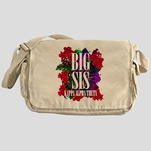 Kappa Alpha Theta Big Floral Messenger Bag