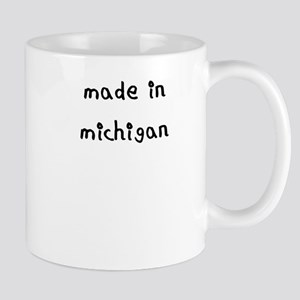 made in michigan Mug