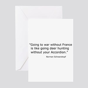 French Bash Greeting Cards (Pk of 10)