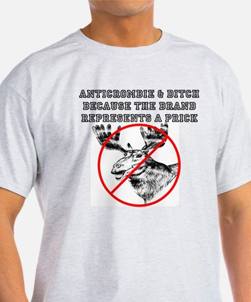Anticrombie and Ditch Moose T-Shirt