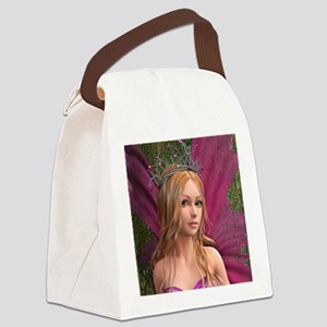 Pink Fairy Canvas Lunch Bag