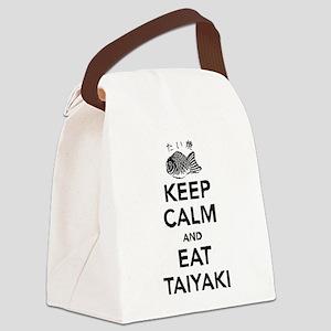 Keep Calm and eat Taiyaki Canvas Lunch Bag