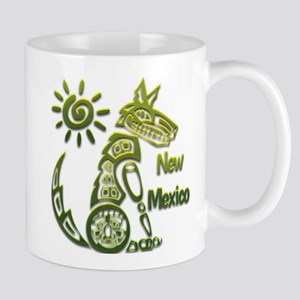 NM Coyote Spiral Sun Green Mug