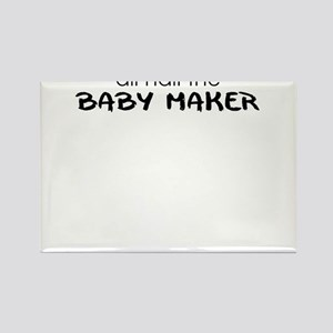 all hail the baby maker Rectangle Magnet