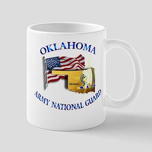 Army National Guard - OKLAHOMA w Flag Mug