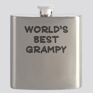 Worlds Best Grampy Flask