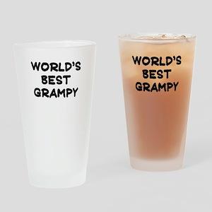 Worlds Best Grampy Drinking Glass