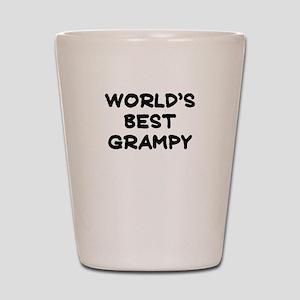 Worlds Best Grampy Shot Glass