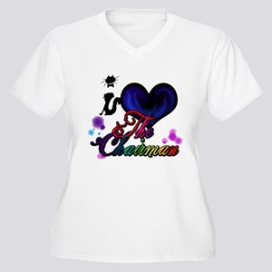 I love The Chairman Plus Size T-Shirt