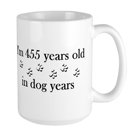 65 dog years 4-2 Mug