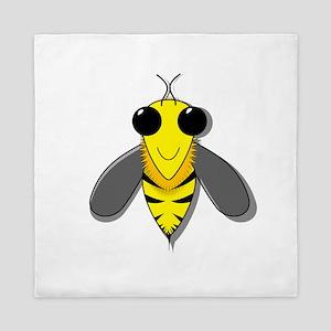 Bee Cartoon Queen Duvet