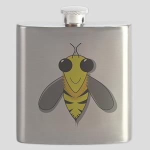 Bee Cartoon Flask