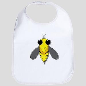 Bee Cartoon Bib