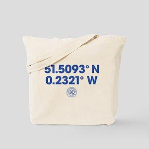 Queens Park Rangers Coordinates Tote Bag