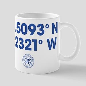 Queens Park Rangers Coordinates 11 oz Ceramic Mug