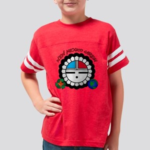 NEW MEXICO CARES SUNFACE Youth Football Shirt