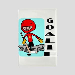 Goalie Rectangle Magnet