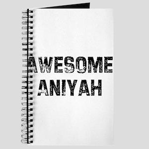 Awesome Aniyah Journal