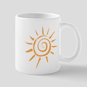 Spiral Sun Mug
