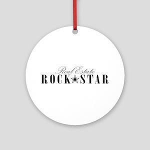 RE Rock Star Ornament (Round)