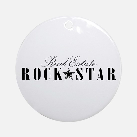 RE Rock Star Ornament (Round)