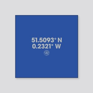 "Queens Park Rangers Coordin Square Sticker 3"" x 3"""