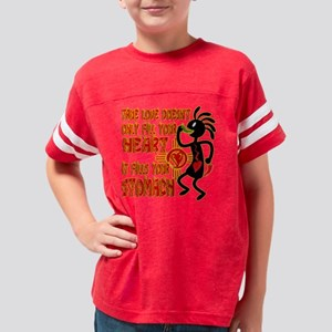TRUE LOVE Youth Football Shirt