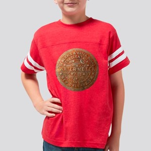 Water Meter Cover New Orleans Youth Football Shirt