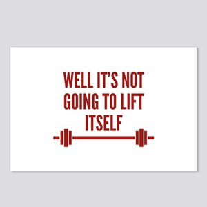 Well It's Not Going To Lift Itself Postcards (Pack