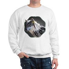 3 Feathers Wolf Sweatshirt