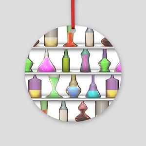 The Mad Scientist Ornament (Round)