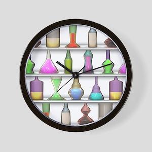 The Mad Scientist Wall Clock