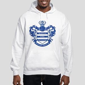 Queens Park Rangers Crest Hooded Sweatshirt
