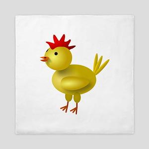 3D Chicken Queen Duvet