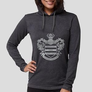 Queens Park Rangers Crest Womens Hooded Shirt