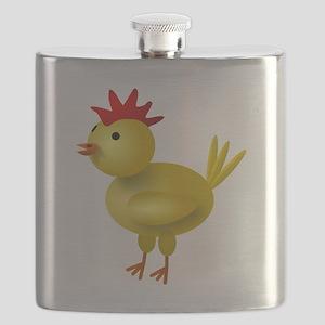 3D Chicken Flask
